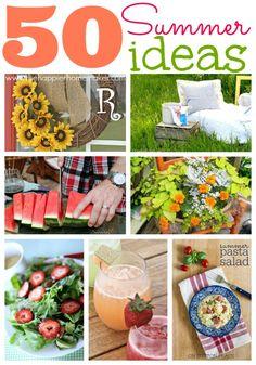 50 summer ideas