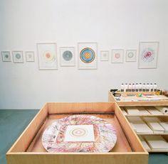 Making beautiful drawings: an installation - Damien Hirst