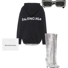 Untitled #24 by india-davison on Polyvore featuring polyvore, fashion, style, Ashish, Balenciaga, Yves Saint Laurent, Gucci and clothing