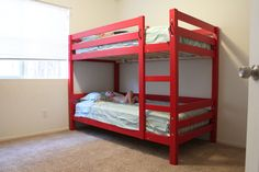 Ana White | Build a Classic Bunk Beds | Free and Easy DIY Project and Furniture Plans