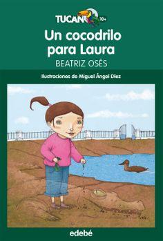 Un cocodrilo para Laura de Beatriz Osés. Sobre la muerte. Beatriz Osés cuenta muy bien el proceso de duelo, de negación y de liberación que le sucede a Laura ante la muerte de su madre.