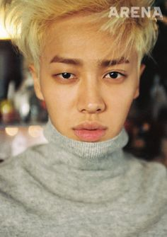 BEAST Gi Kwang - Arena Homme Plus Magazine October Issue '14