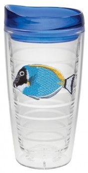 AQUARIUM FISH TUMBLER SET, PLASTIC INSULATED CUPS AND MUGS  #Clarissa Tumblers