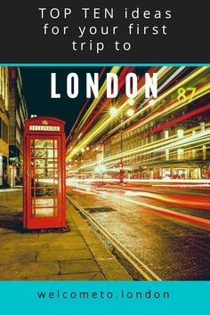 Make planning your first trip to London easy with our list of top ten ideas for the best things to do and best places to visit. Working Holiday Visa, Working Holidays, London Attractions, London Landmarks, Beautiful Places To Visit, Cool Places To Visit, Moving To Scotland, Moving To The Uk, Moving Tips