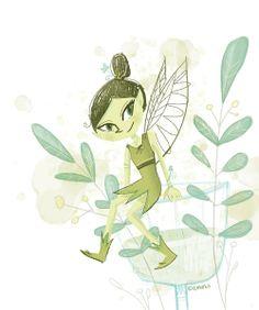 green fairy Doreen M. Marts #green fairy
