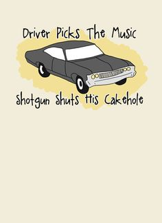 Supernatural greeting card from Sweetgeek's Etsy store. (so much great stuff at this store!)