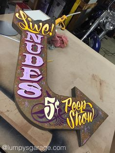 Pinstripe Art, Sign Writing, Garage Art, Hand Painted Signs, Custom Furniture, Rooftop, Man Cave, Basement, Printables