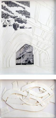quiet render, black & white background, Alvar Aalto. Ismael Randall Weeks