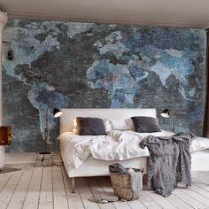 [Decotips] Propuestas decorativas con mapas ¿viajamos?