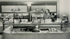 """On Jan. 1, 1948 Estée Lauder launched in Neiman Marcus in Dallas with a radio ad proclaiming, """"Start the New Year with a New Face."""" Consumers lined up after hearing Estée's promises of the latest European beauty secrets."""