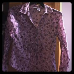 Daytrip Blouse Flowered blouse really cute! Never worn! Daytrip Tops Blouses
