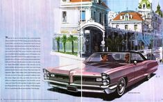 Those Amazing Psychedelic Pontiac Ads by Fitzpatrick and Kaufman