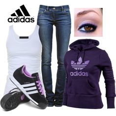 """A.D.I.D.A.S."" by sandbunny on Polyvore"