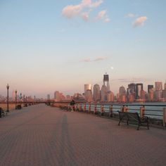 Liberty State Park in NJ.