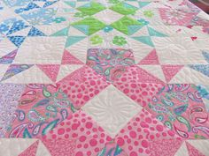Starlett! One of our new patterns with our new line of fabric for Moda...Bandana! meandmysisterdesigns.com
