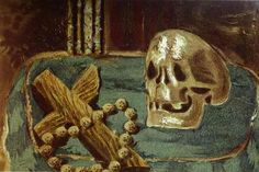 Vanitas, 1939 by Georges Braque. Expressionism. vanitas. Private Collection