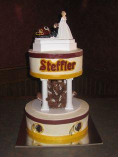Redskins wedding cake
