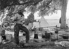 Camp. Erwin E. Smith Collection Guide, OR Ranch, 1909-10