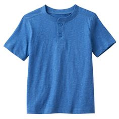 Toddler Boy Jumping Beans® Nep Henley Tee, Size: 4T, Blue (Navy)