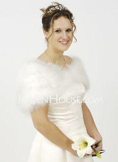 Wraps - $21.99 - Faux Fur Wedding / Special Occasion Shawl (013003848) http://jenjenhouse.com/Faux-Fur-Wedding---Special-Occasion-Shawl-(013003848)-g3848