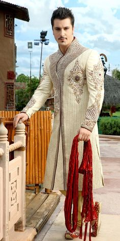 Ethnic Traditional Wedding Sherwani