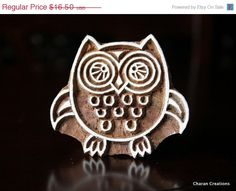 BIG ANNUAL SALE Pottery Stamps Indian Wood by charancreations