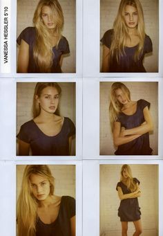 Vanessa Hessler #fashion #model #polaroid                                                                                                                                                                                 More
