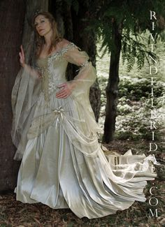 Titania By Rivendell Bridal - Front Close http://www ...