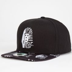f69c843f224 LAST KINGS Anarchy Mens Snapback Hat 254036100