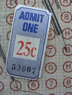 Circus Tickets Dozen Awesome Nostalgic Antique Tickets
