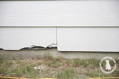 how to repair hardie board siding - the handmade home