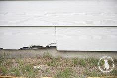 how to repair hardie board siding - the handmade home
