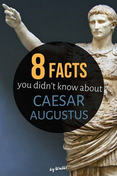 Heir to Julius Caesar, he was one of the most famous (and controversial) leaders from Ancient Rome, but how much do you really know about Caesar Augustus? From political strife to private life, here are 8 facts you mightn't know about the famous Roman Statesman.