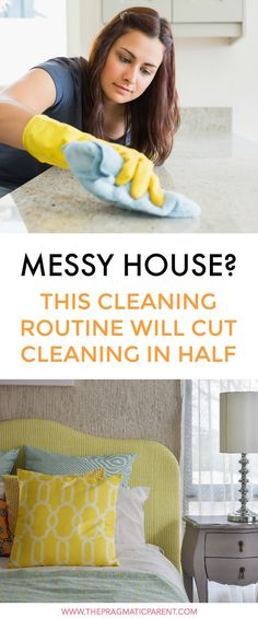 Create a Cleaning Schedule That Doesn't Take A lot of Time #cleaningschedule #cleaninghackstosavetime #cleaningtips