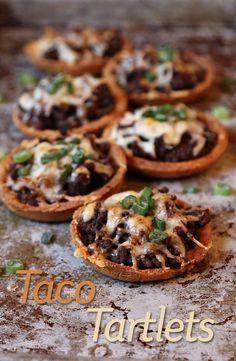 Taco Tartlets. Per Serving (11): 241 Calories, 19 Fat,13 Protein, 3 Net Carbs