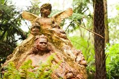 Learn about Aboriginal culture and spirituality at the William Ricketts Sanctuary.