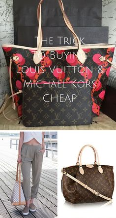 LV   Michael Kors at a discount! Shop your favorite brands at up to off  now. Click image to install the FREE Poshmark app now. 9f91f018541d6