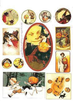 free to use vintage halloween images 1