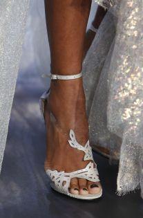 #Marchesa #NYFW #ssmarchesa17 #shoe #fairytale #blue #sequence #elegance