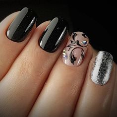 nail art manicure festive