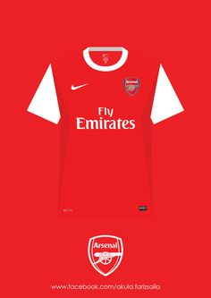 My appreciation to my favourite football team since i was 10 years old. Arsenal kit collection from season to and includes Arsenal next season kit, sponsor by Puma even its still not official yet. Arsenal Fc, Arsenal Jersey, Arsenal Football, Fifa Football, Football Fans, Football Shirts, Arsenal Wallpapers, Dennis Bergkamp, Arsene Wenger