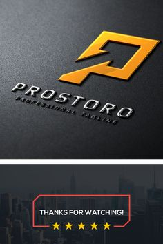 Prostoro P Letter Logo: multifunctional logo that can be used in technological companies, in companies and applications for software development, construction
