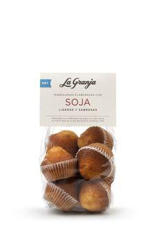 Magdalenas elaboradas con soja.  #cupcakes #food #instafood #breakfast #healthy #delicious #gourmet #foodie #diet #soja