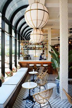 Bar designed by Lazaro Rosa-Violán #restaurantdesign