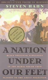 A Nation under Our Feet: Black Political Struggles in the Rural South from Slavery to the Great Migration ~ Steven Hahn ~ Belknap Press of Harvard University Press ~ 2003
