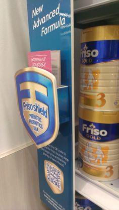 Friso New Advanced Formula Shelf Banner | Shelf Banner