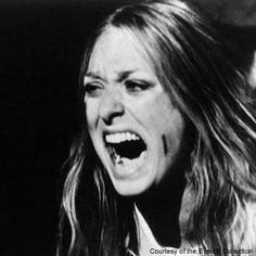 Sally Hardesty (played by Marilyn Burns) in The Texas Chain Saw Massacre.  Not many people go up against Leatherface and his crew and survive.  She escaped a household of crazy bad guys, jumped through a window, and was the only one in her group of friends to escape a chainsaw wielding psycho.
