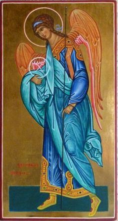 Archangel Gabriel, Archangel Michael, Angel Images, Byzantine Icons, Art Icon, Religious Icons, Guardian Angels, Orthodox Icons, Mother Mary
