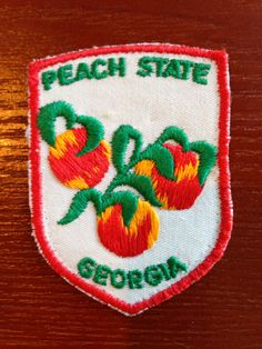 Georgia Vintage Travel Patch by HeydayRetroMart on Etsy, $4.00