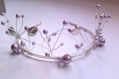 Gorgeous Handmade Tiaras for that special day Bridal Jewellery, Wedding Jewelry, Fashion Accessories, Hair Accessories, Head Pieces, Crown Hairstyles, Tiaras And Crowns, Wire Work, Hair Jewelry